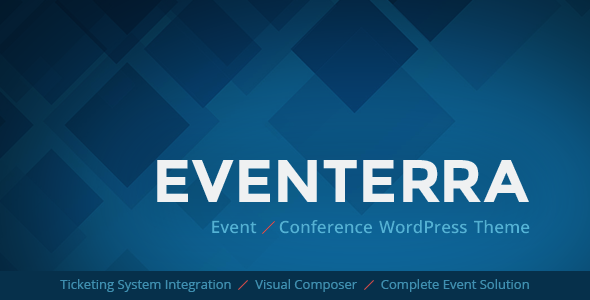 Eventerra – Event / Conference WordPress Theme