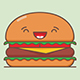 Burger Emoji Set - GraphicRiver Item for Sale