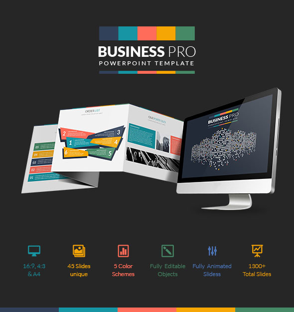 Business pro powerpoint professional business template by proword business pro powerpoint professional business template business powerpoint templates flashek Gallery