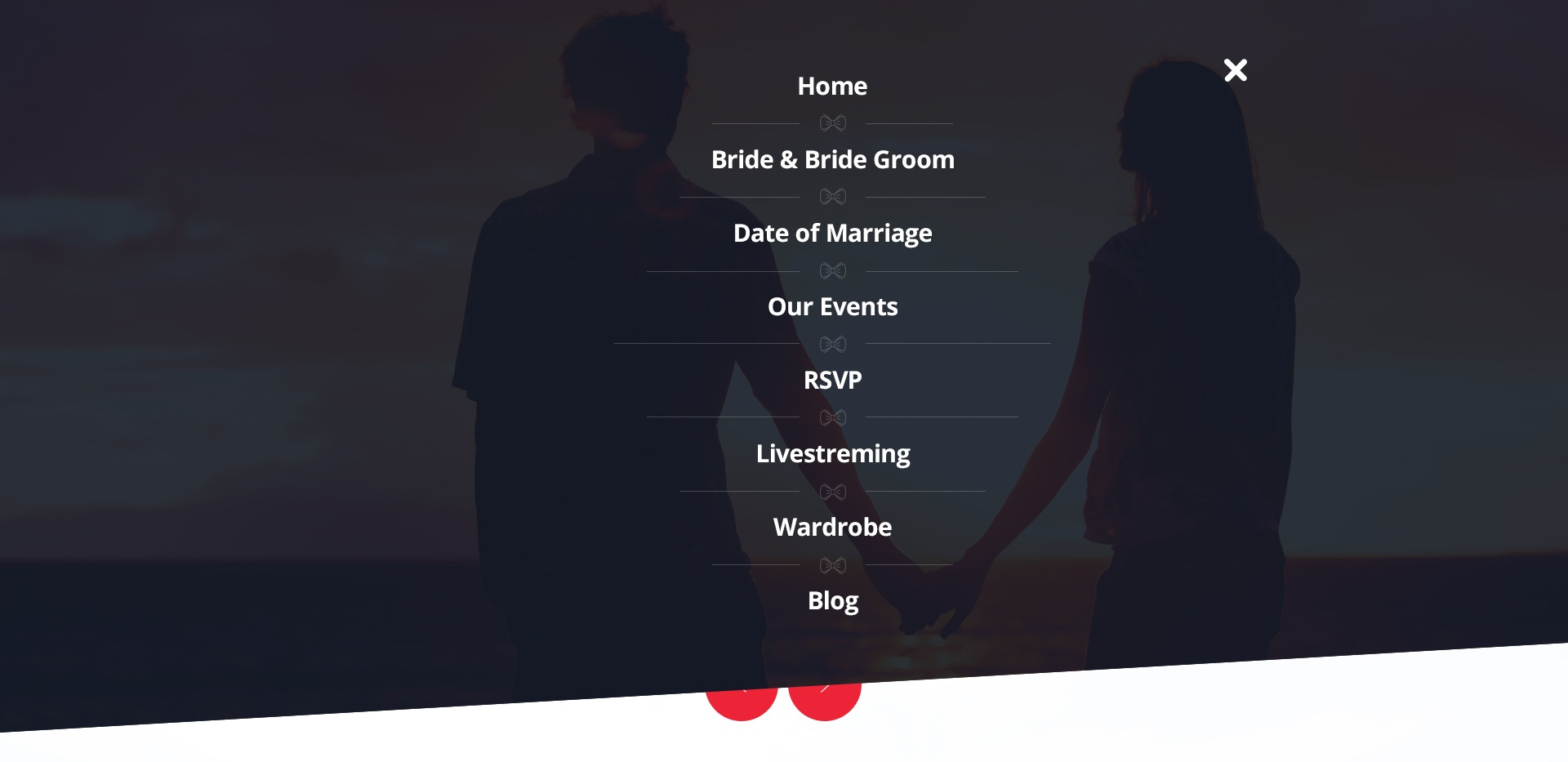 LoveBond One Page Wedding HTML Responsive Template by wpfruits ...