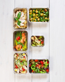 Healthy food take away in boxes, eating right - PhotoDune Item for Sale