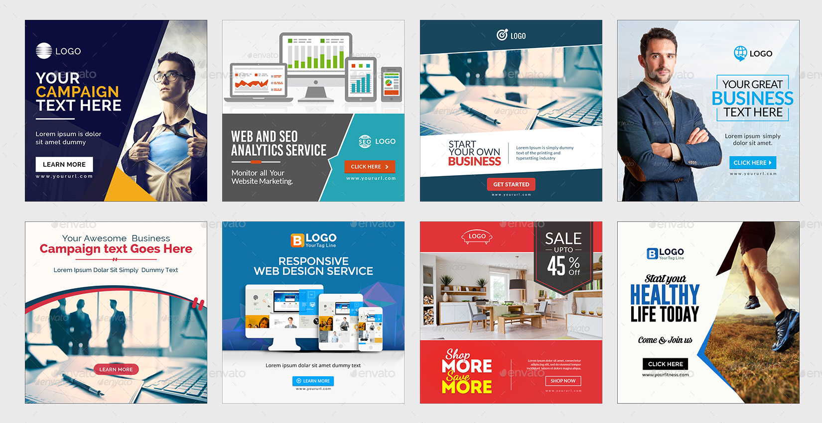 Instagram Ad Templates Banners By Doto GraphicRiver - Instagram ad template