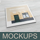 Square Magazine Mockup - GraphicRiver Item for Sale