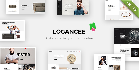 Logancee - Multipurpose Responsive Prestashop Theme - Shopping PrestaShop