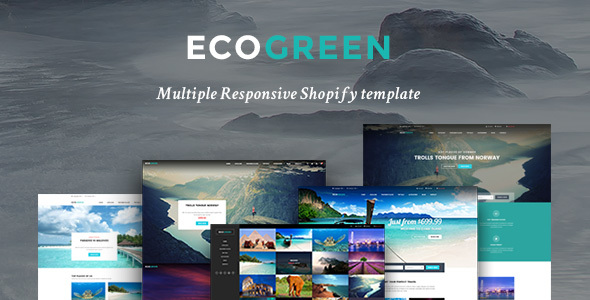 Image of Ap Eco Green Shopify Theme