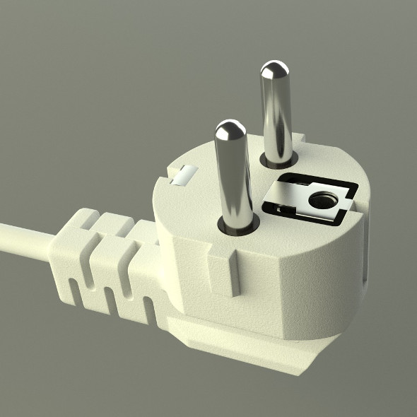 Electric Plug - 3DOcean Item for Sale