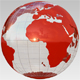 3d Globe loop with transparency - VideoHive Item for Sale