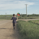 Boy Runs Long Road - VideoHive Item for Sale