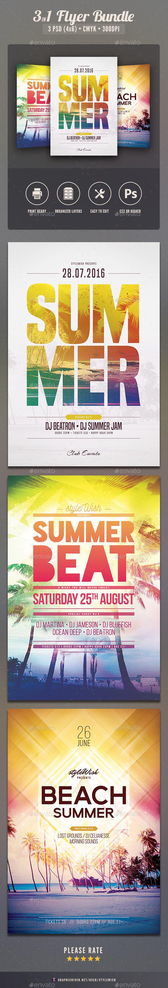 Summer Flyer Bundle Vol.13