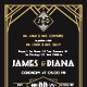 Art Deco Wedding Invitation Vol. 2 - GraphicRiver Item for Sale