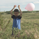 Kid Walks With Balloon - VideoHive Item for Sale