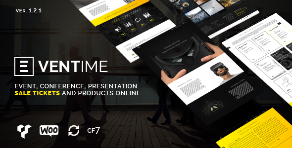 Eventime – Conference & Event Ticket Store Theme