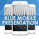 Blue Mobile Video Presentation - VideoHive Item for Sale