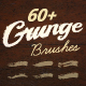 60+ Grunge Illustrator Brushes - GraphicRiver Item for Sale