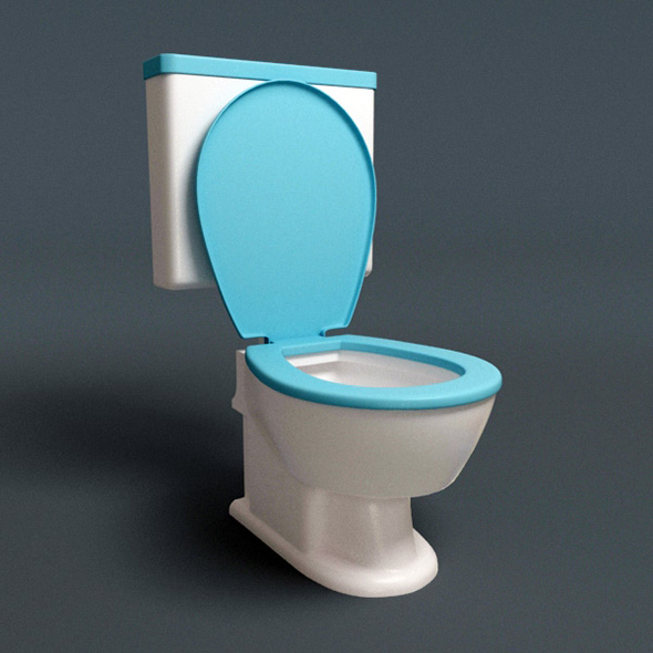 Stylish HQ Lavatory - 3DOcean Item for Sale