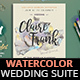 Dreamy Watercolor Wedding Suite II - GraphicRiver Item for Sale