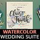 Dreamy Watercolor Wedding Suite II - GraphicRiver Item for Sale