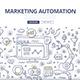 Marketing Automation Doodle Concept - GraphicRiver Item for Sale