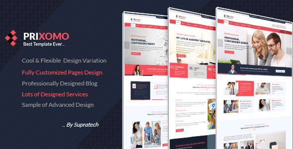 Prixomo – Responsive Multi-Purpose Joomla Theme