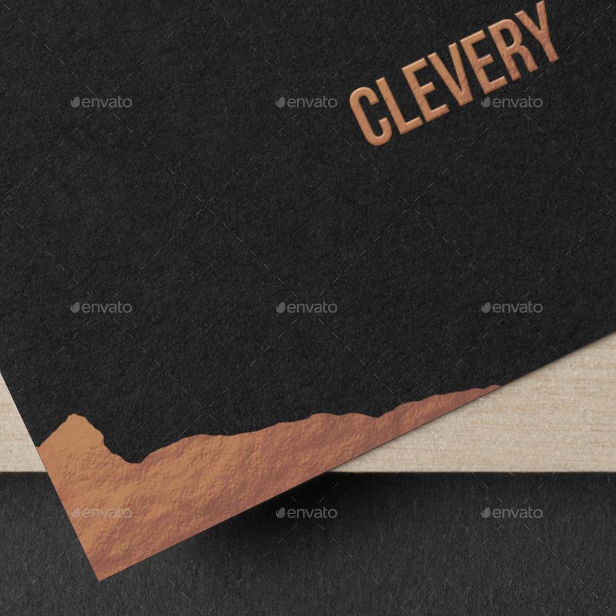 Photorealistic business cards mockup black edition by clevery photorealistic business cards mockup black edition colourmoves