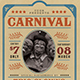 Retro Circus Carnival Flyer - GraphicRiver Item for Sale