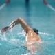 Professional Swimmer In The Pool. - VideoHive Item for Sale