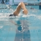 Man Swimming Crawl In The Pool With Splash Arm - VideoHive Item for Sale