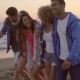 Young People On The Beach - VideoHive Item for Sale
