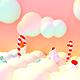 Toon Sweet Candy World