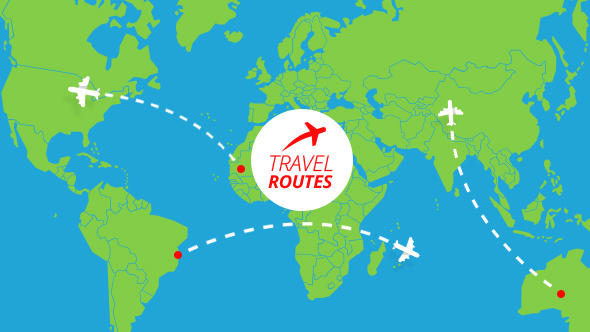 Travel Routes Maker by MotionIdea VideoHive