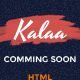 Kalaa - Coming Soon - Template (Responsive) - ThemeForest Item for Sale