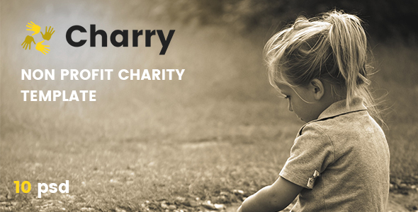 Charry – Non Profit Charity Template