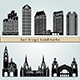 San Diego Landmarks and Monuments - GraphicRiver Item for Sale