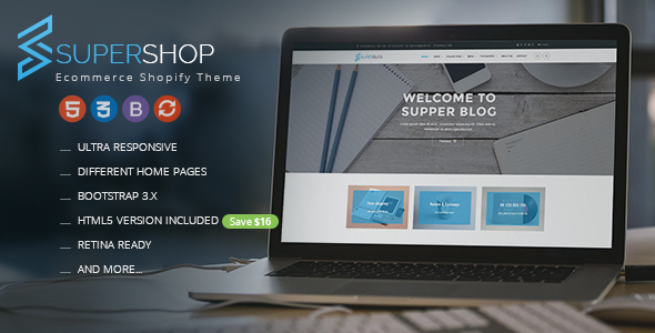Super Shop – Responsive Shopify Theme