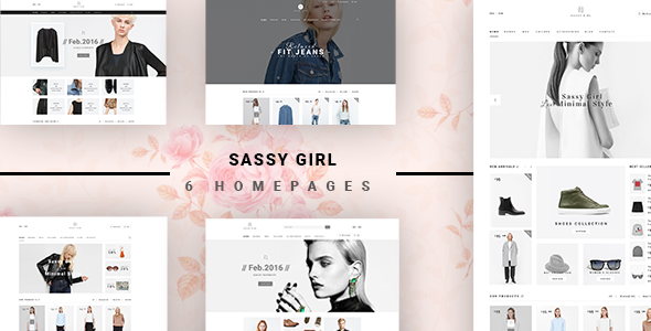 Sassy Girl – Women Online Shop Theme for Magento 2
