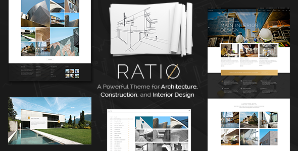 Ratio – A Powerful Theme for Architecture, Construction, and Interior Design - Portfolio Creative