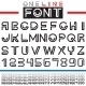 Line Font - GraphicRiver Item for Sale