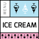 Ice Cream Menu V - GraphicRiver Item for Sale