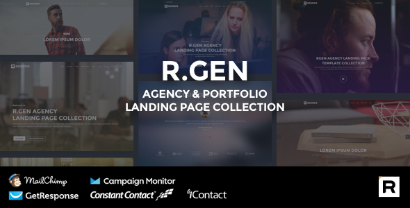 R.Gen - Agency Landing Page - Landing Pages Marketing
