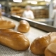 Bread On The Conveyor Belt At The Bakery - VideoHive Item for Sale