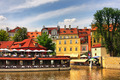 Old colorful houses of Prague. - PhotoDune Item for Sale