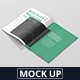 US Letter Brochure / Magazine Mock-Up - GraphicRiver Item for Sale