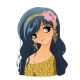 Girl Portrait with Flowers - GraphicRiver Item for Sale