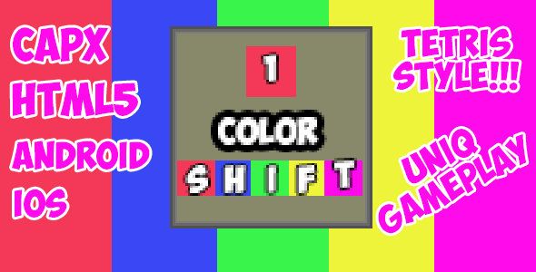 Color Shift - HTML5 Mobile Game + CAPX! - CodeCanyon Item for Sale