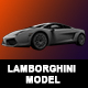 Lamborghini 3D Model - 3DOcean Item for Sale