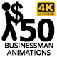Businessman Animations - VideoHive Item for Sale