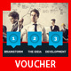 Multipurpose Business Discount Voucher Template - GraphicRiver Item for Sale