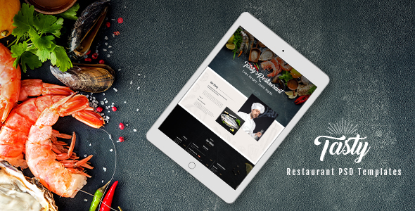 Tasty – Restaurant PSD Templates