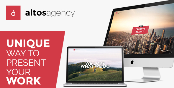 Altos One Page – Creative Agency HTML Template