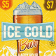 Cold Beer Happy Hour Flyer/Poster - GraphicRiver Item for Sale